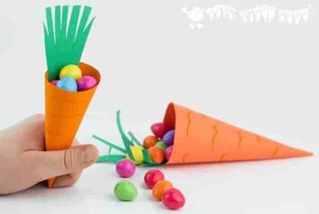 panier carotte paques