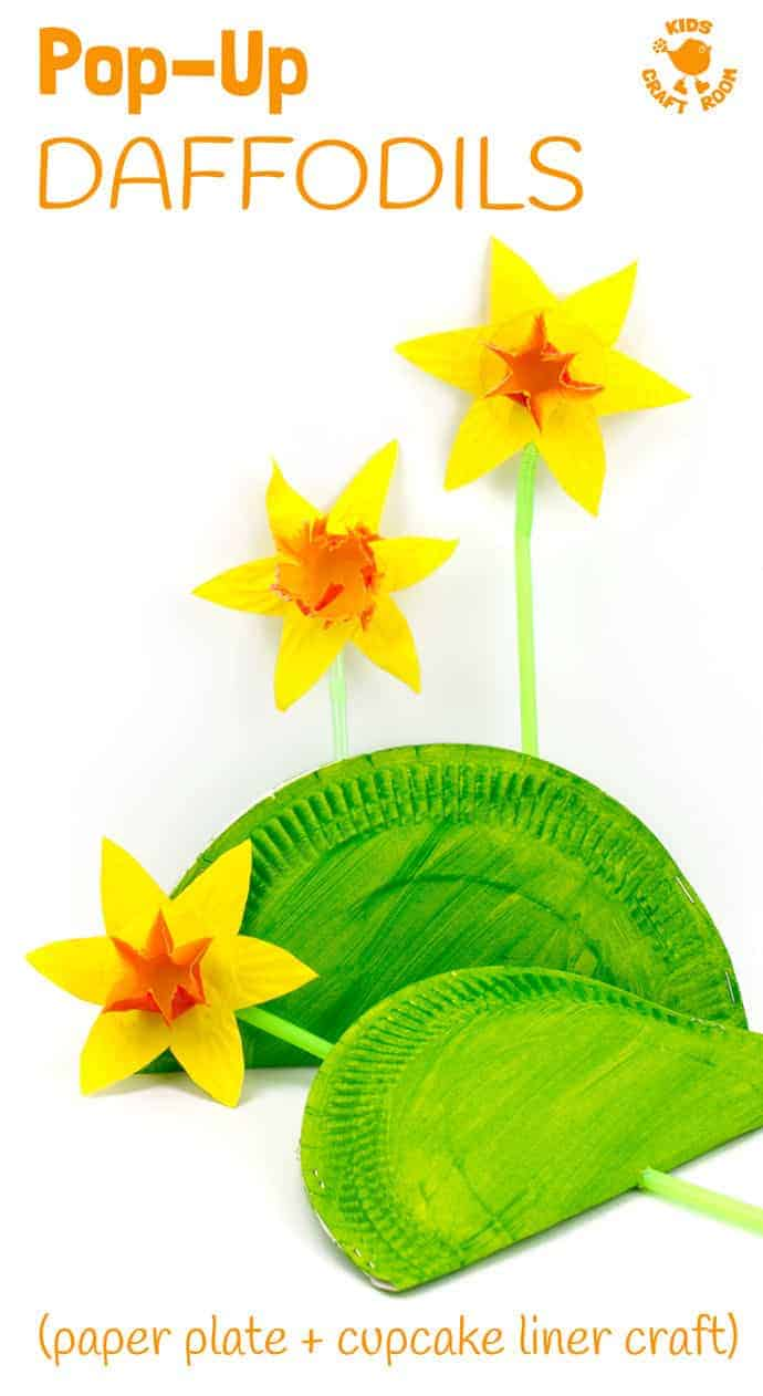 10 Lively Spring Flower Crafts for Kids of All Ages -