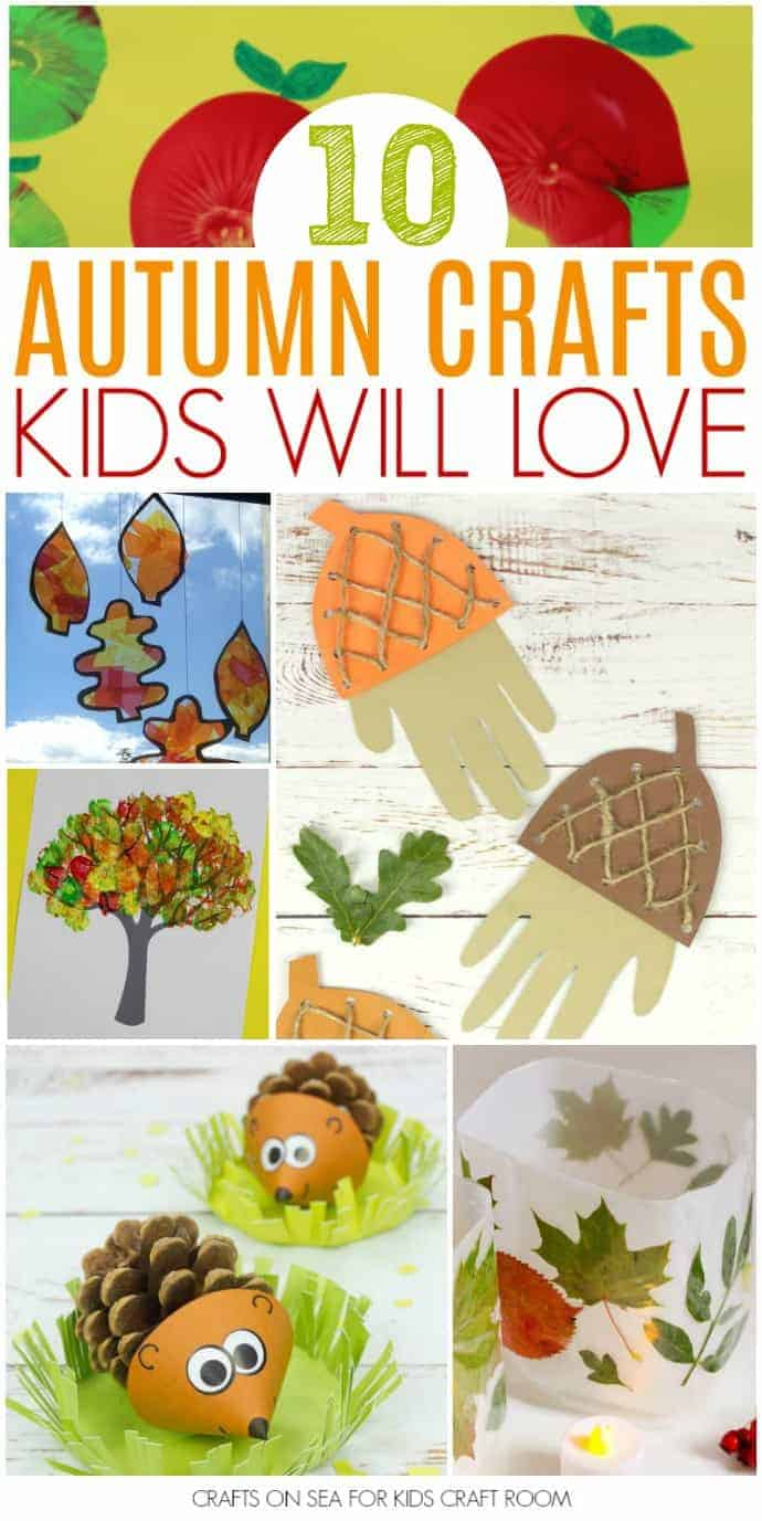 Easy Autumn Crafts For Kids Kids Craft Room
