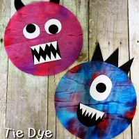 Kids Craft - Coffee Filter Monsters