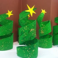 Toilet Paper Christmas Trees