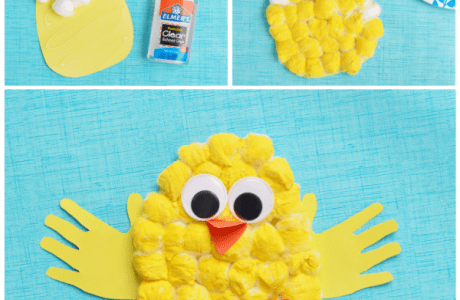 Make Baby Easter Chicks With The Kids