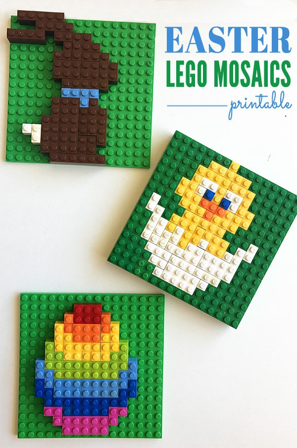 Easter lego templates for kids for Lego crafts for kids