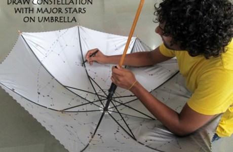 DIY Planaterium Umbrella