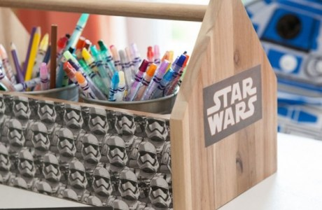 IKEA Hack – Star Wars Tool Caddy