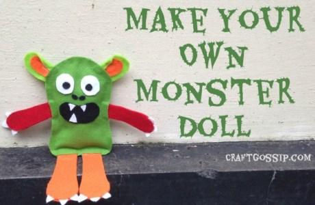 Halloween Monster Plushie Rag Doll