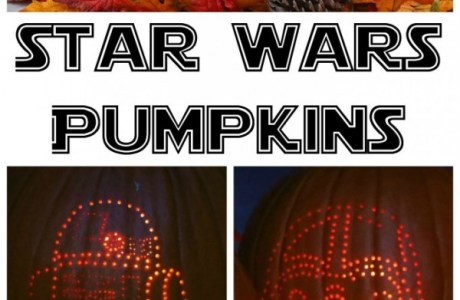 How To Make Star Wars Halloween Pumpkins