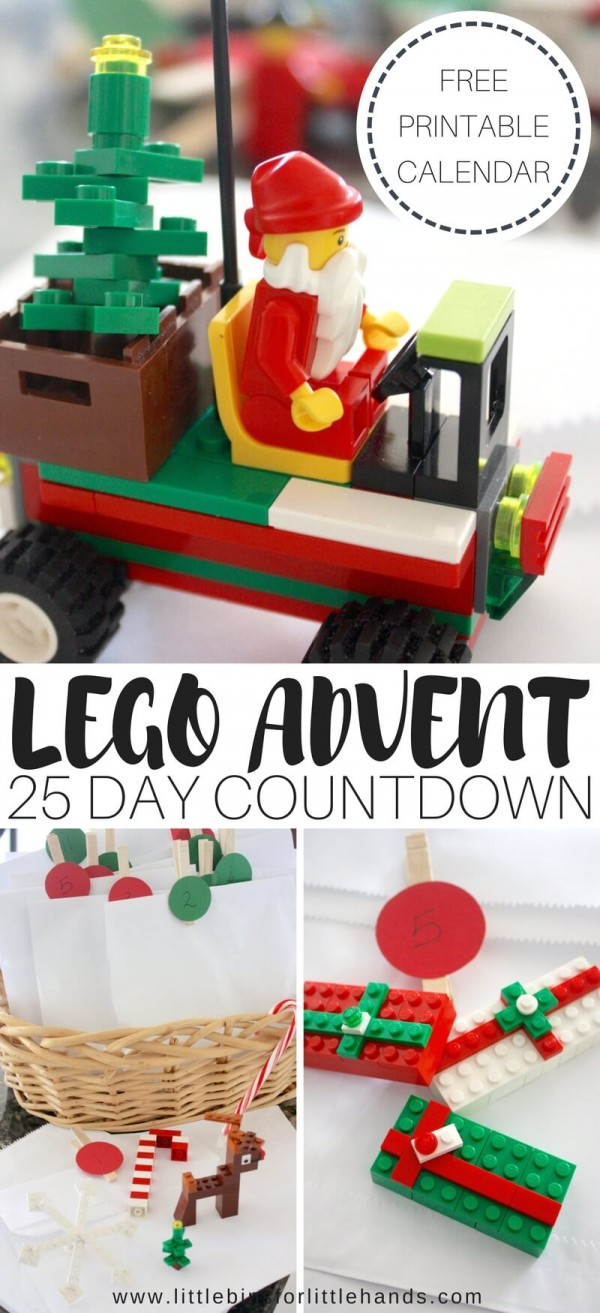 DIY Lego Advent Calendar