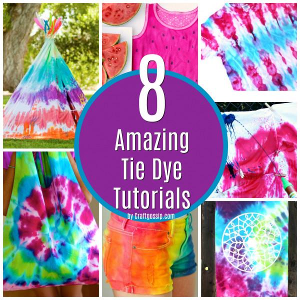 d9dfa1eefcb8 8 Amazingly Easy Tie Dye Tutorials
