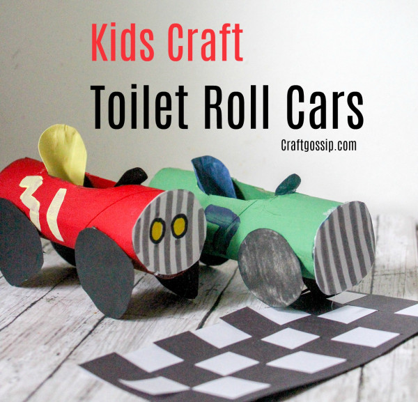 Toilet Paper Roll – Cars Activity
