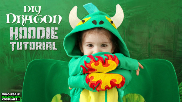DIY Dragon Hoodie Costume for Kids!