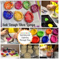 DIY Salt Dough Diya