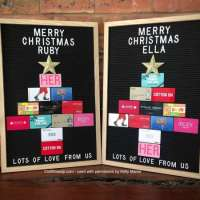 Amazing Christmas Gift Card Gifting Idea