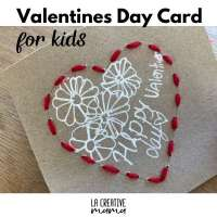 Valentines handmade cards for kids {free printable}