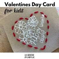 Valentines handmade cards for kids {free printable}