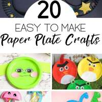 Paper Plate Crafts You Can Make With The Kids