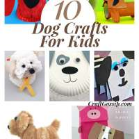 Dog Themed Crafts For Kids