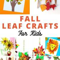 20+ Autumn Fall Leaf Crafts For Kids