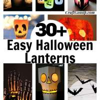 30+ Front Porch Lanterns Kids Can Make For Halloween