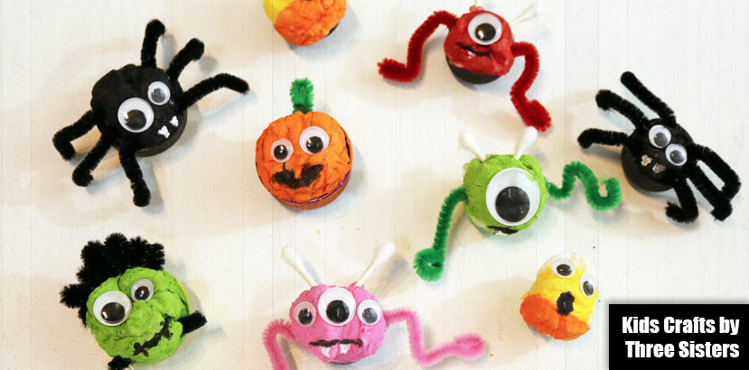 these easy halloween crafts