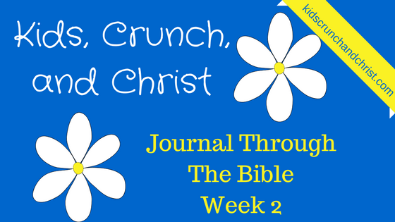 Journal through the Bible week 2