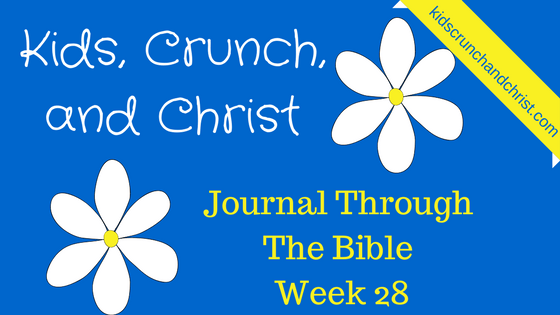 I am reading and journaling through the entire Bible in Chronological order in 2017, join me on my linkup!