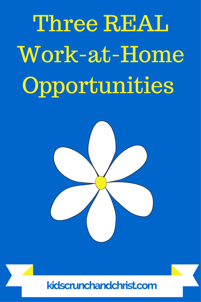 Three opportunities you can really make money from home