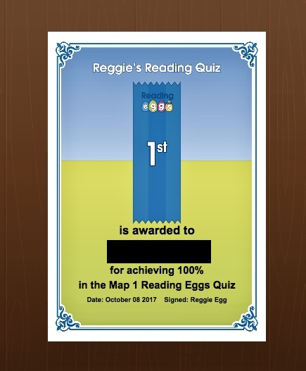 Reading Eggs online reading program features