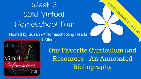 2018 Virtual Homeschool Fair Week