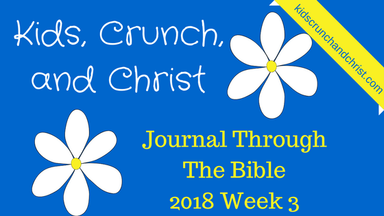 I am reading and journaling through the entire Bible in Chronological order in 2018, join me for this Bible reading and journaling Challenge!