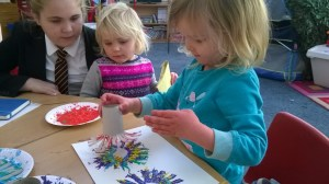 Harrold Primary Academy After School Club Craft session