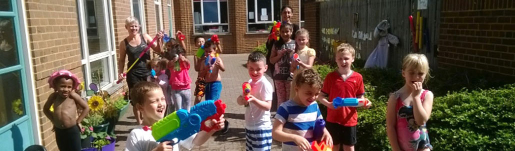 Outdoor fun at our Dawn Til Dusk Before and After School Club