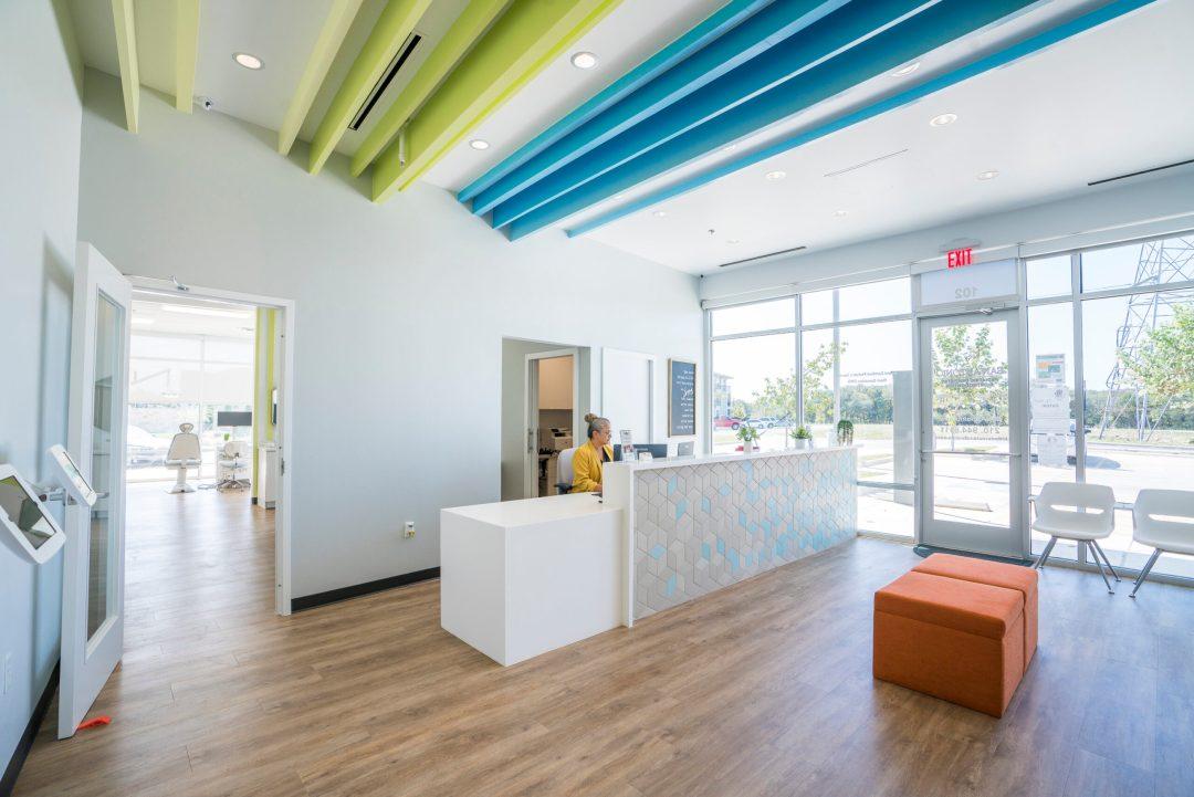 Reception Area for San Antonio Pediatric Dentistry and Orthodontics