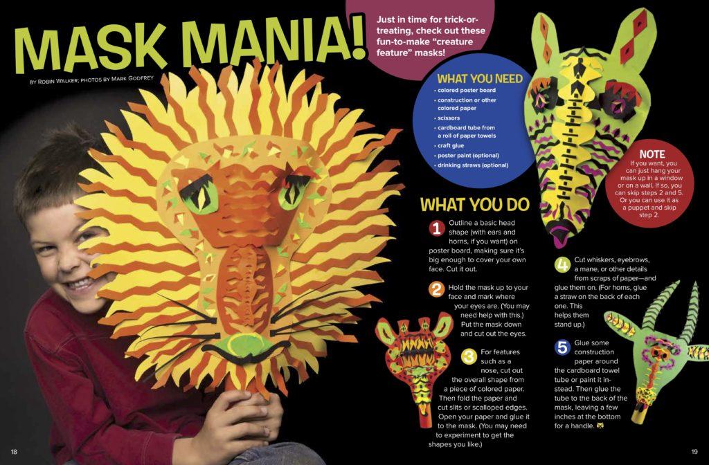 Make Fun Mask Directions