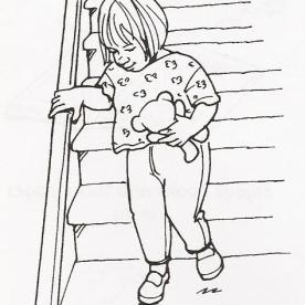 Ανεβαίνει και κατεβαίνει σκάλες