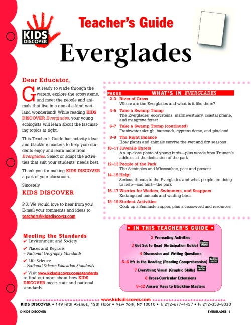 small resolution of Everglades - Kids Discover