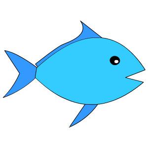 Kids Drawing Hub How To Draw Fishmonger For Kids