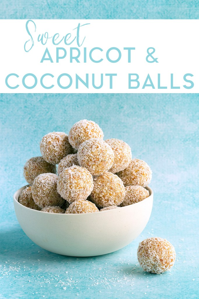 Sweet Apricot and Coconut Balls by Kids Eat by Shanai