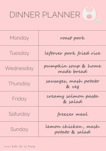 no waste meal planner