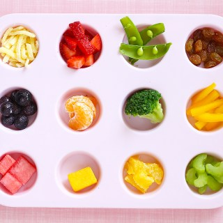 fun finger food tray
