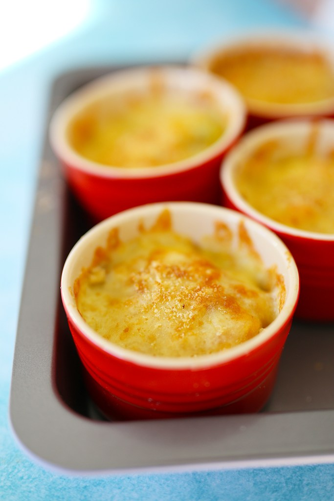 veggie gratin with turmeric by kids eat by shanai