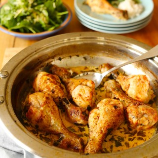 lemon butter chicken drumsticks
