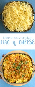 leftover roast chicken mac n cheese with Cauliflower Sauce | Kids Eat by Shanai