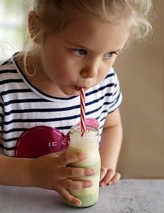 mango banana avocado layered smoothies | Kids Eat by Shanai