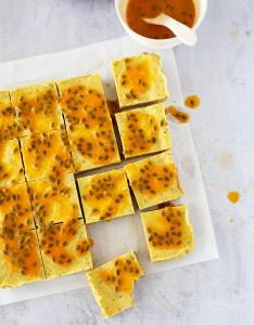 No Bake Passionfruit Slice | Kids Eat by Shanai