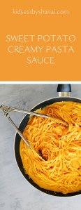 Sweet Potato Creamy Pasta Sauce   Kids Eat by Shanai