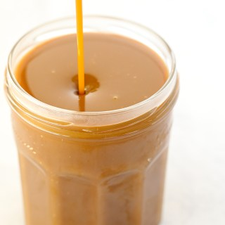 Dairy Free Caramel Sauce