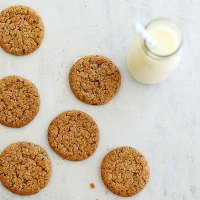 Crunchy Ovaltine Biscuits | Kids Eat by Shanai