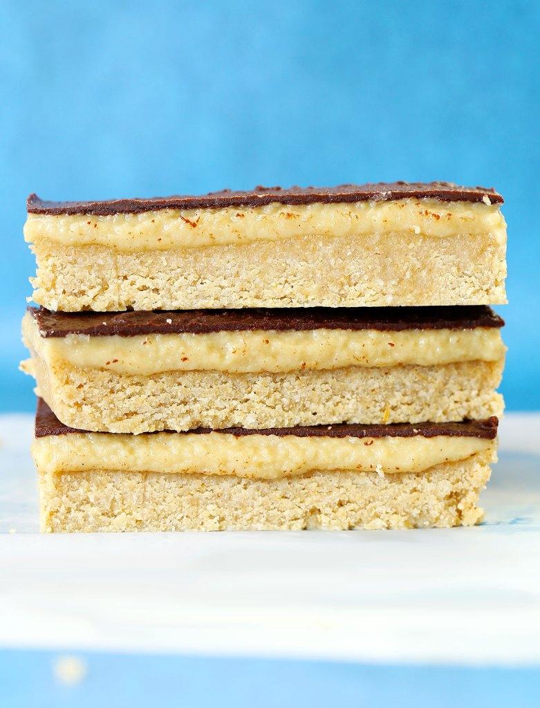 Nut Free Raw Caramel Slice by Kids Eat by Shanai