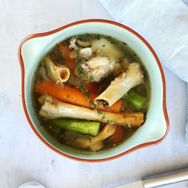 Lamb Bone Broth Made Simply In Your Slow Cooker Or On The Stove Top